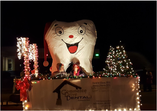 Chip the Tooth in the Parade