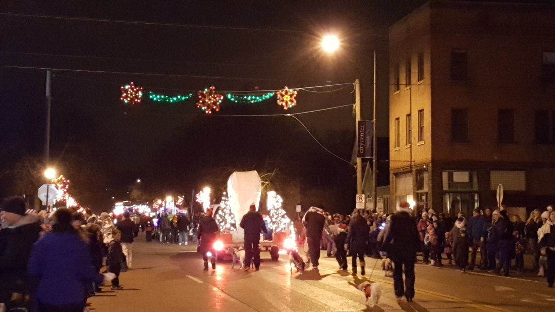 Bells on Belgrade Winter Wonderland Parade